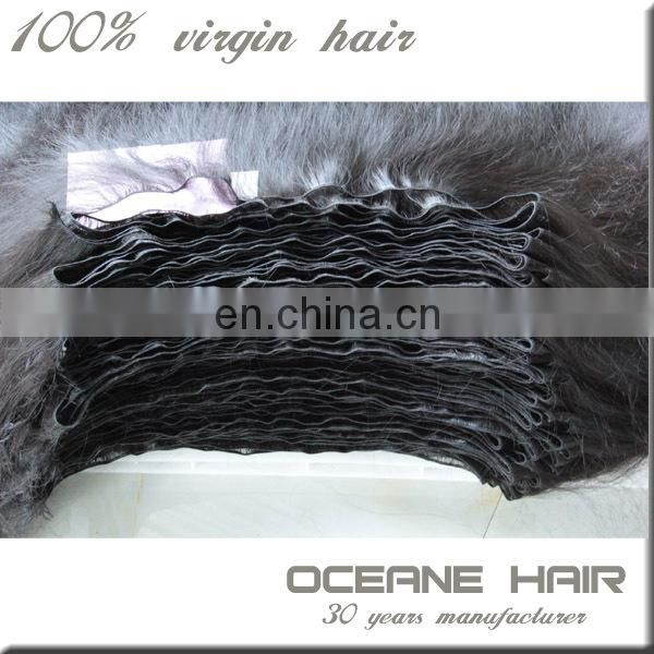 Most popular factory price unprocessed high quality russian aunty funmi hair bouncy curls
