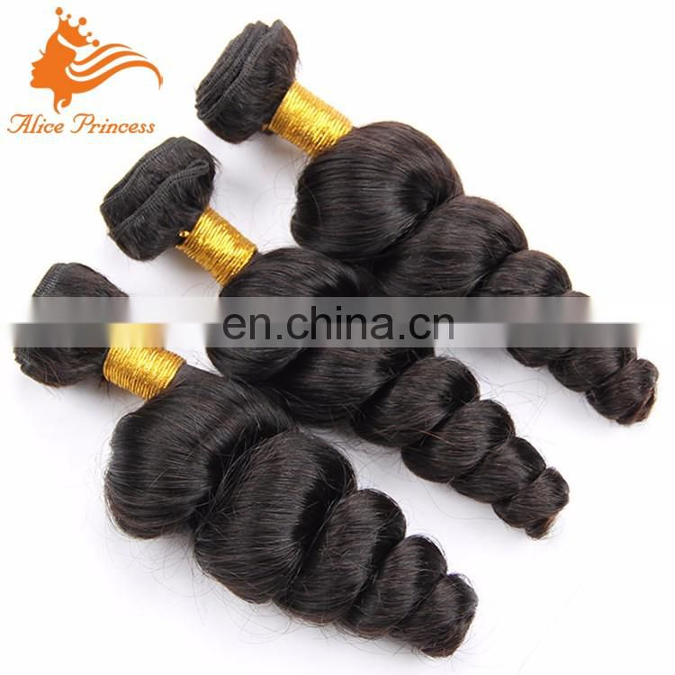 Natutal Color Loose Wave Mongolina Hair Weave With Beautiful Wholesale Weave In New York