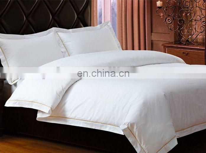 White Hotel Sheets Bed