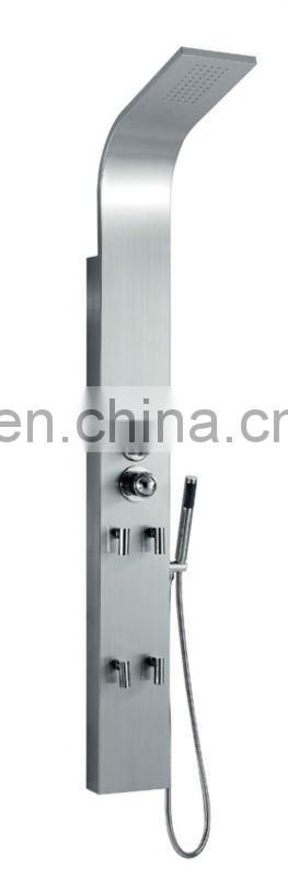 Thermostatic stainless Steel shower panel SP-221