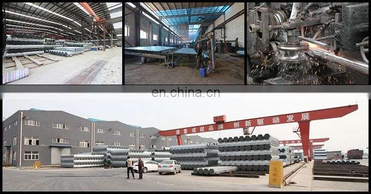 42mm galvanized round tube erw steel pipe manufacturer