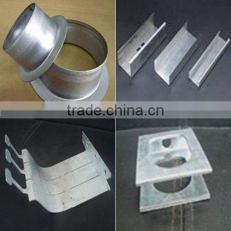 fabrication services for aluminium or stainless steel mechanical part