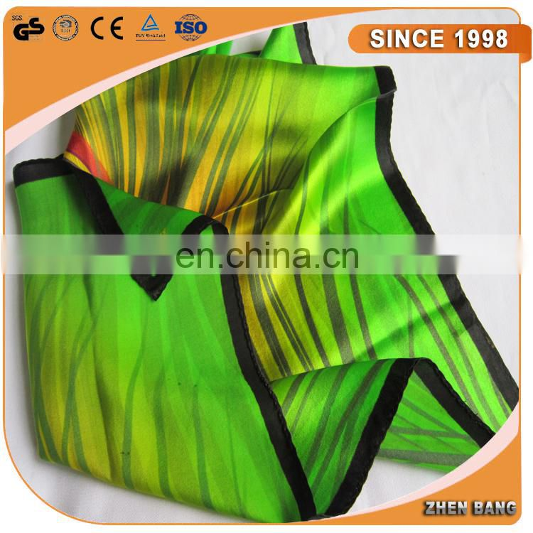 100% Silk Custom Printed Twill Scarf For Wholesale