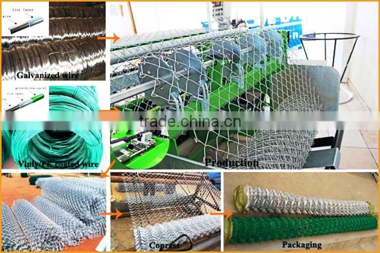 ISO factory wholesale 6 gauge chain link fence