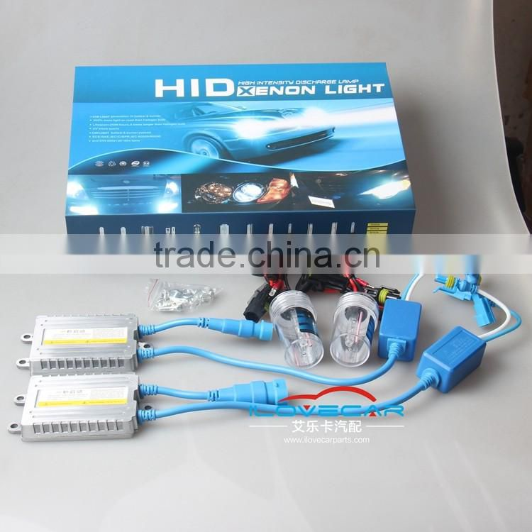 hot sale HID xenon kit including bulbs and ballasts set for auto headlight