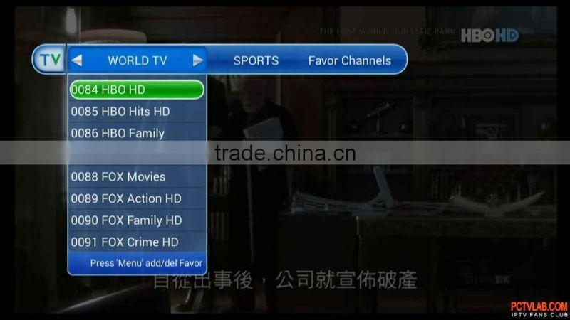 america new york japan iptv /vod japanese iptv box of New Products
