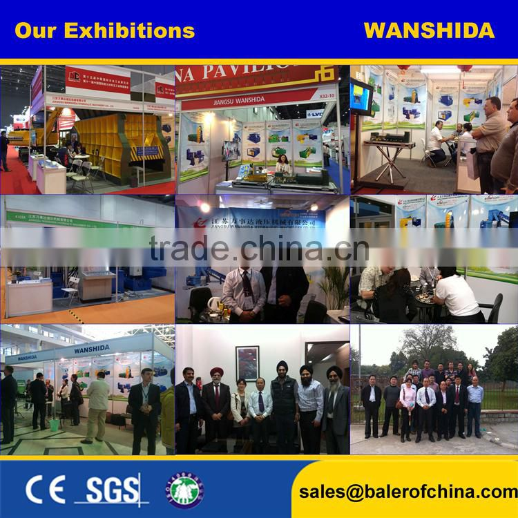 Wanshida Best Sale Truck Tyre Baling Press