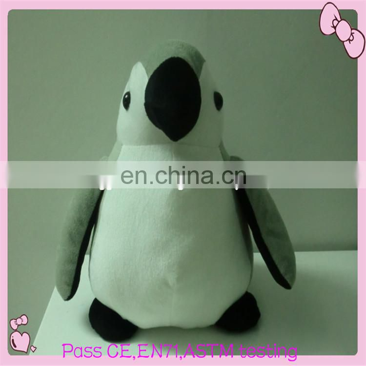 high quality fur plush penguin toys