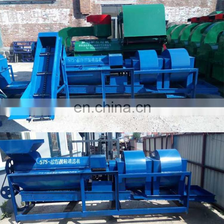 pine nut processing machine pine nuts peeling machine pine nuts shelling machine