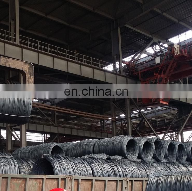nail making 9mm SAE1006 hot rolled steel wire rod coils price per ton
