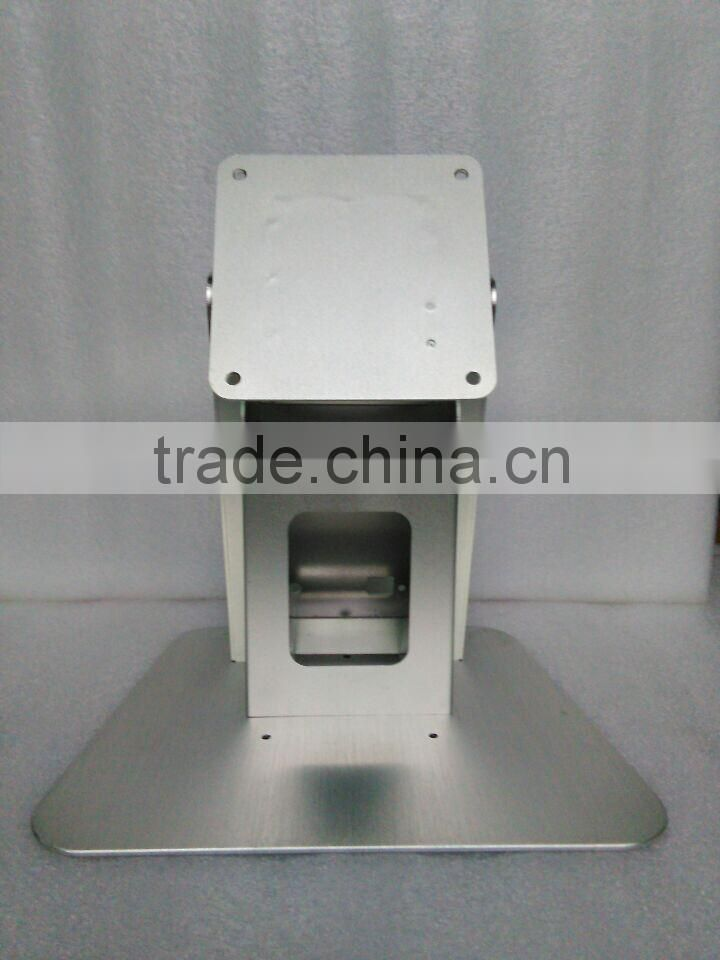 OEM customized full aluminum stand used for 10-22inch all in one pc desktop and lcd monitor