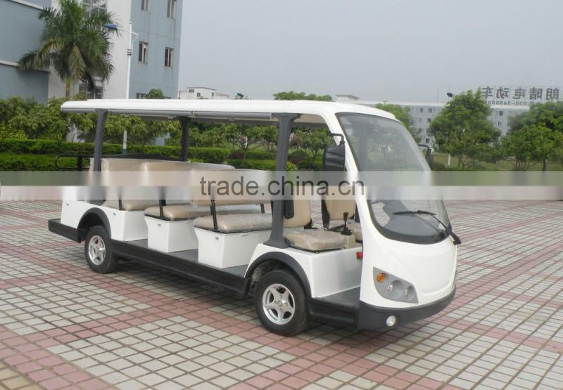 NEW amusement park 11 seats electrical sightseeing car with high quality
