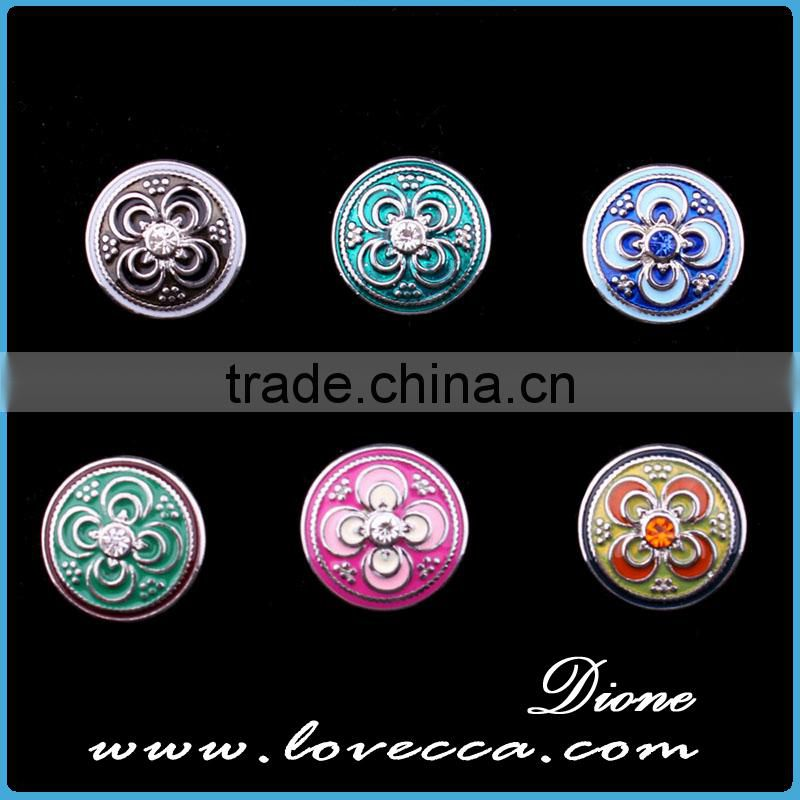 Metal Button Manufacturers,Wholesale Snap Press Button Fit Necklace,Push Button Jewelry
