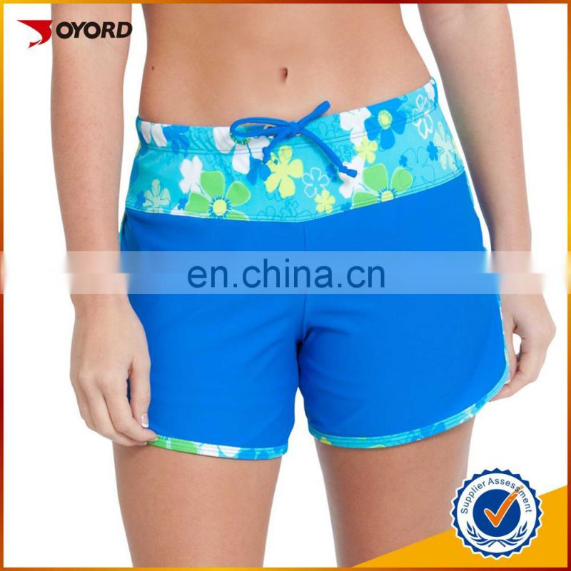 Wholesale 4 way stretch beach clothing, dye sublimation fishing shorts hot sale in European