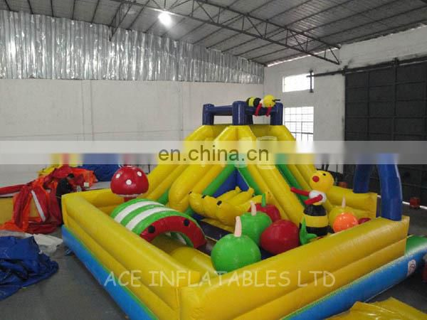 best selling inflatable fruit fun city