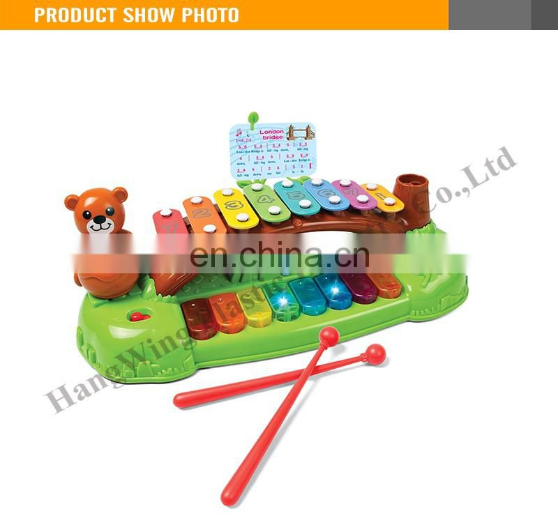 Musical Instrument Set B/O Organ Interaction Knock Piano Musical Play Set