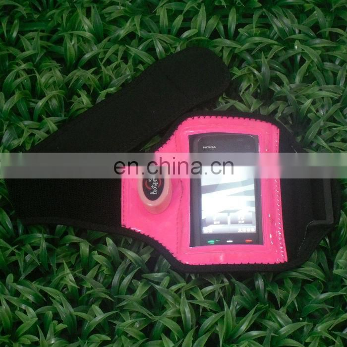 Hot Sale Led light mobile phone sport armband for night jogging