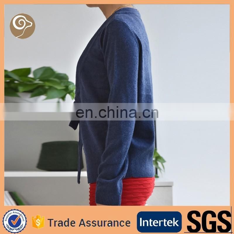 Women wholesale knitted cashmere sweater italy