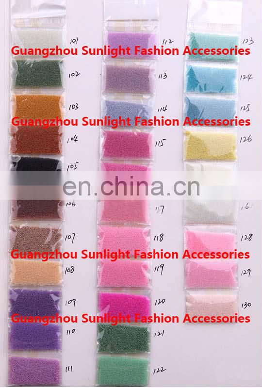 nail art glass Caviar beads for nail decorate
