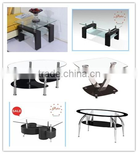 tempered glass lamp table living room furniture corner table furniture unique glass coffee table