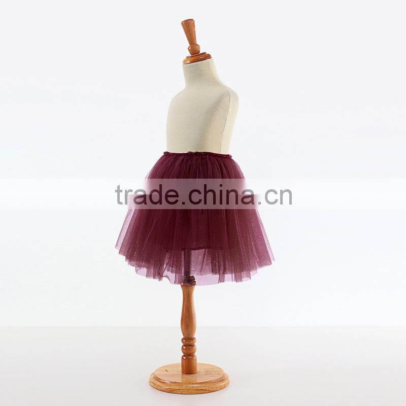 2015 new style Baby Kids Girls Cute Chiffon Tutu Skirts Full Pettiskirt Princess Dancewear skirts cotton yarn skirts ten colors