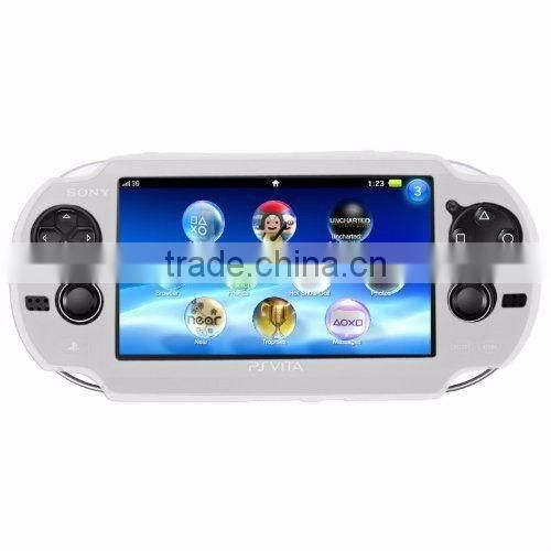 Soft Silicone Skin Protector Cover Case Shell for Sony PS Vita Console PSP