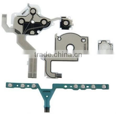 Cross Button Left Key Volume Right Keypad Flex Cable for PSP 3000