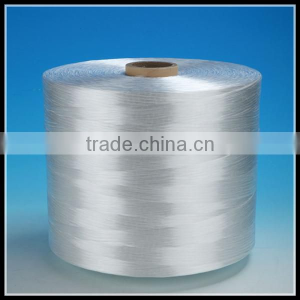 High quality 100% raw/dyed polypropylene/pp DTY filament yarn for knitting 100d