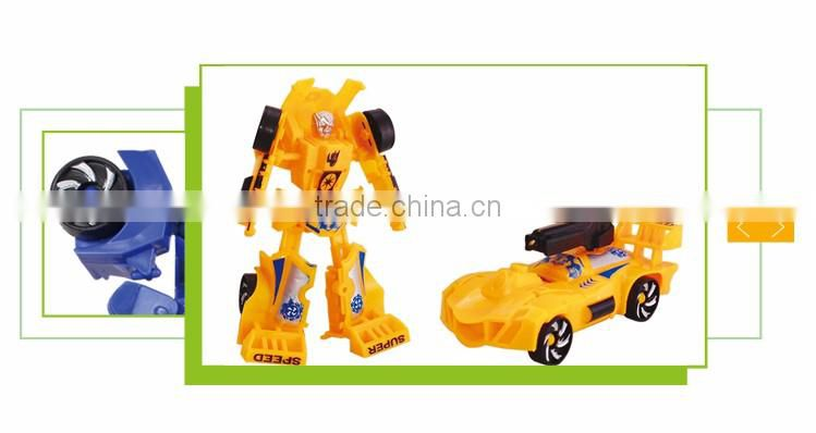 Best sale cartoon deformation toys model set robot car kit