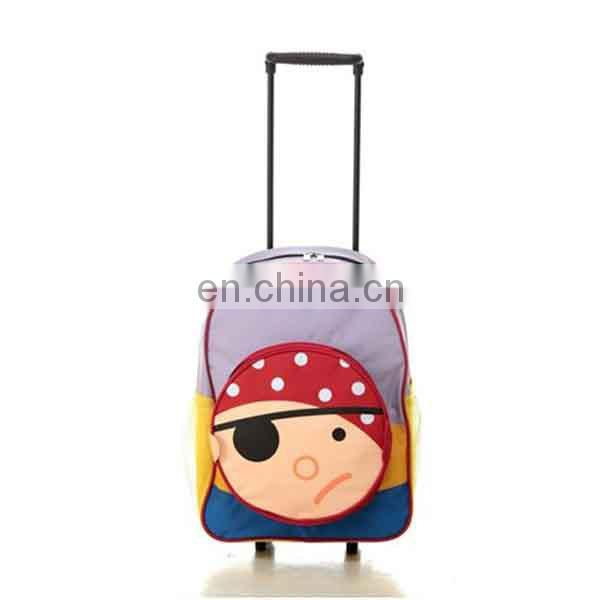 China Factory Cartoon Shape Wheels Schoolbag
