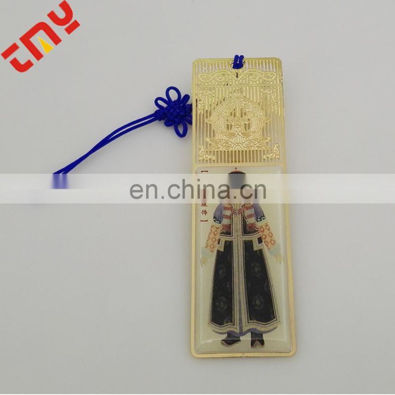 Hot Sale Eco-Friendly Colorful Printing Metal Hand Tag With String