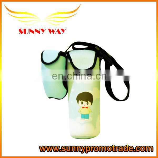 T-shirt shape neoprene wine/beer/water bottle holder