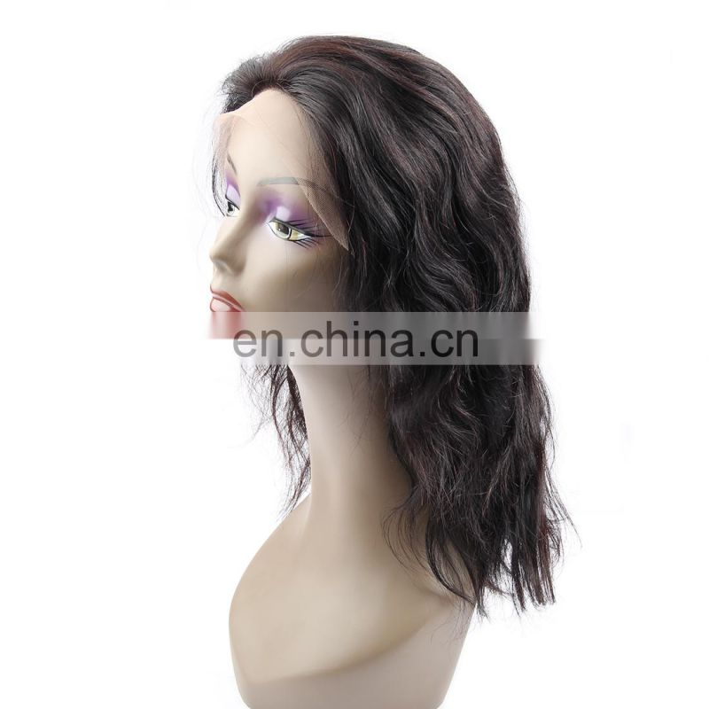 100% human hair full lace wig body wave