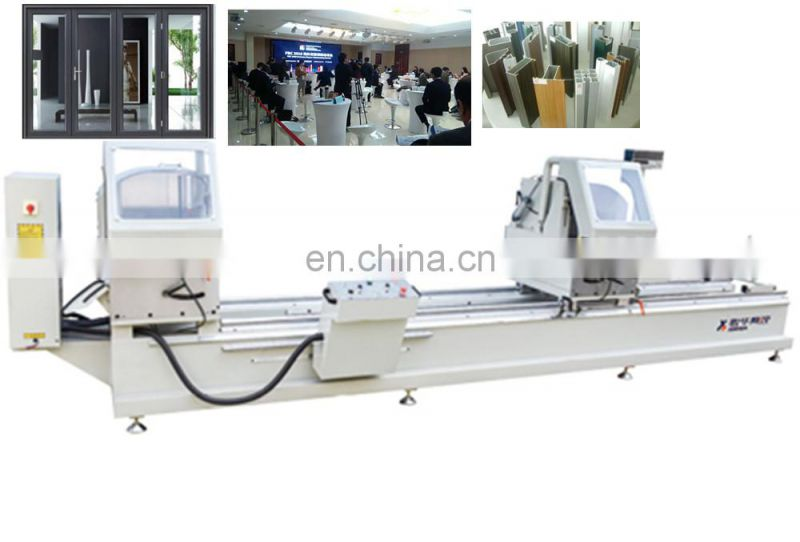 Two-head aluminum sawing machine glazing bead of windows making for Cheap Price