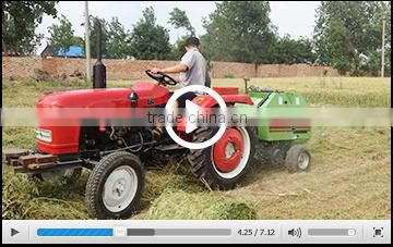 Factory directly export agricultural farm machinery mini round hay baler