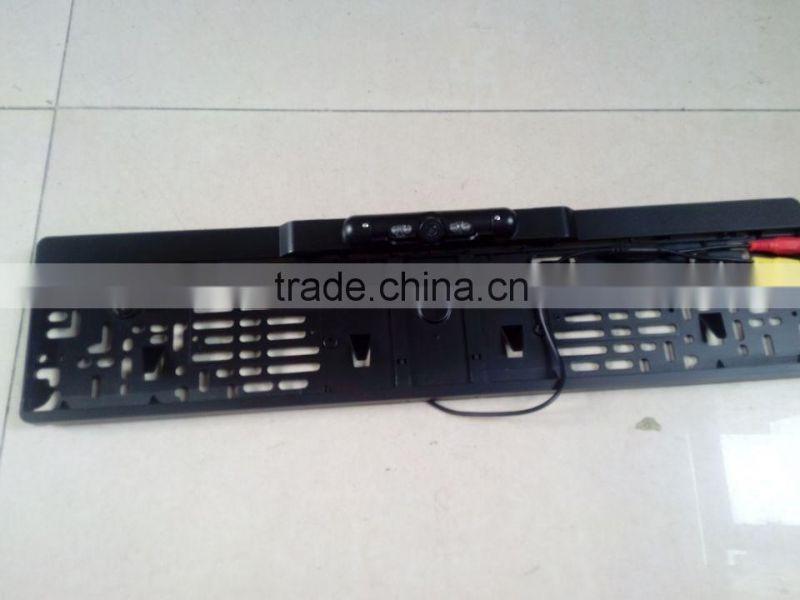 IR,waterproof licence plate camera for factory, black Europe car ...