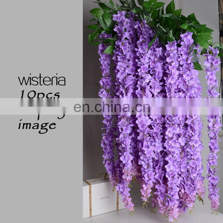 vintage tiffany blue wisteria garland high quality blue wisteria beautiful wedding flowers backdrop love decor bridal flowers