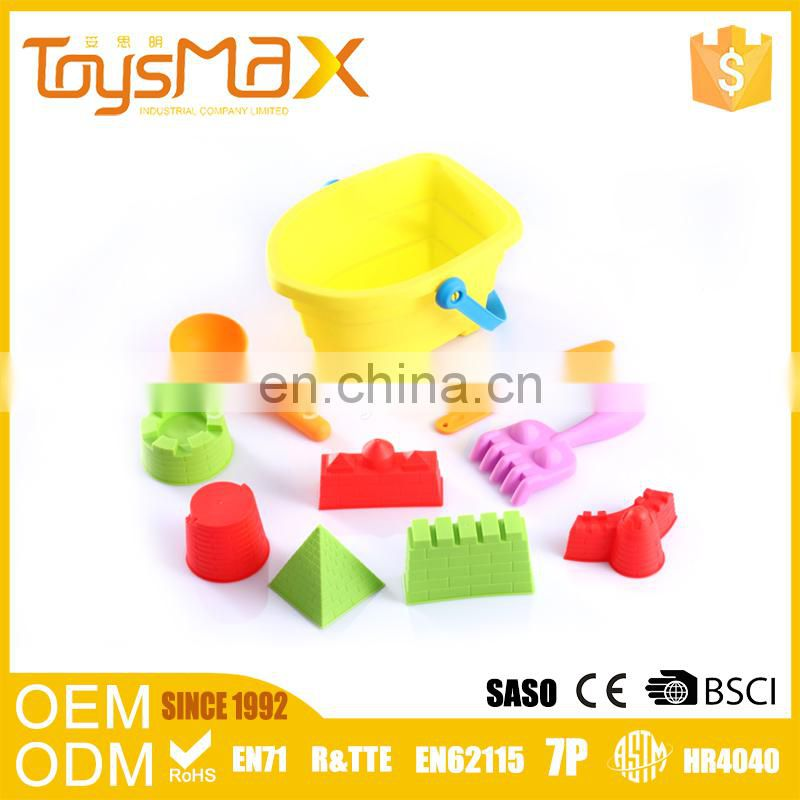 China Import Toys Plastic Multicolor Castle Mold Sand Toy