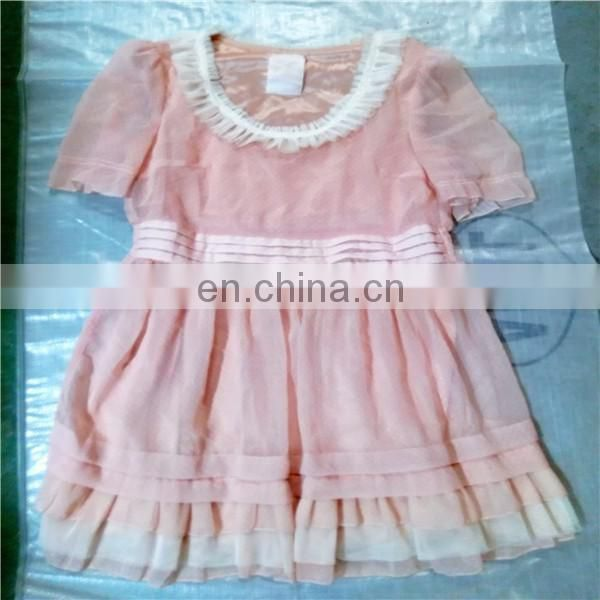 factory price nice summer second hand clothing dress for wholesale
