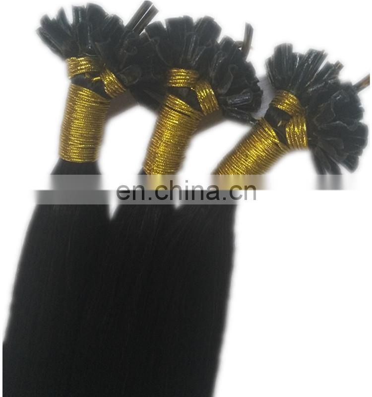 Wholesale natural U tip hair extension