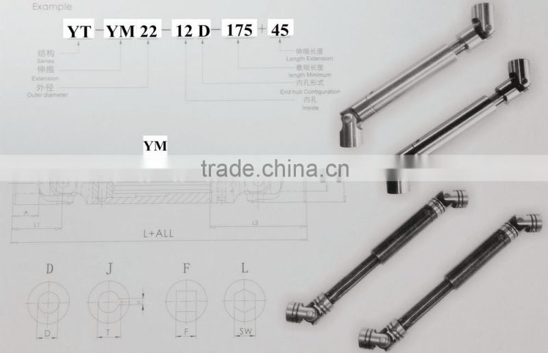 Threaded Rod Coupling Coupling U Joint Coupling Universal Chicago Coupling Double Universal Joint, Transmission,