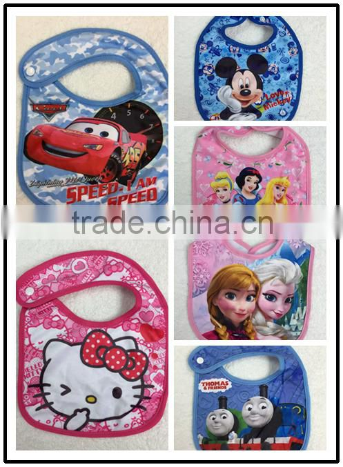 TF-Y02160517040 2016Top Selling Cotton Baby Bibs Carters Towel Waterproof Baby Bibs Infant Saliva Towels Cartoon Waterproof Baby