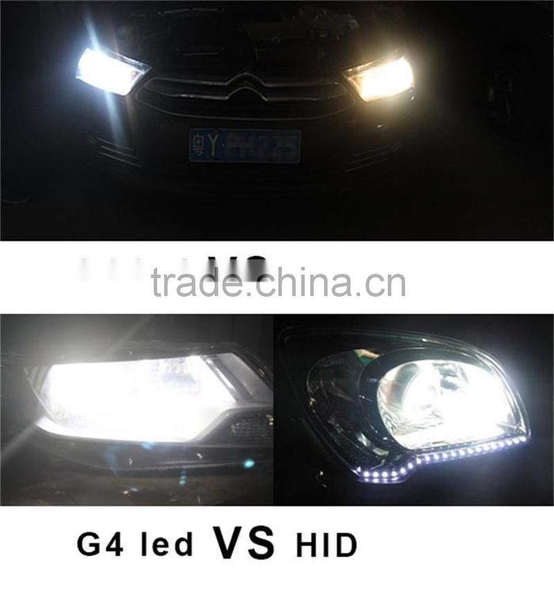 Warterproof IP65 Car Accessories 12V 24V g4 led headlight kit 6400lm for auto,motorcycle, Truck , Atv ,Suv