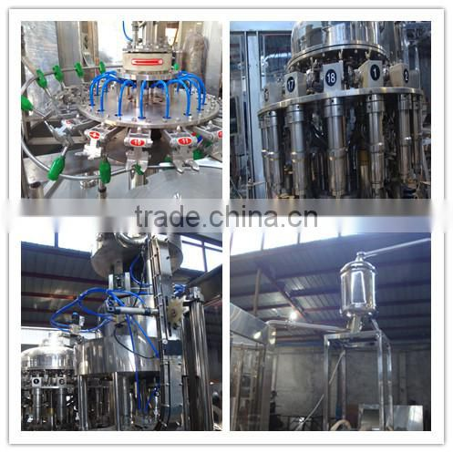 RXGF 12-12-5 automatic 5000BPH PET bottle juice filling machine 3 in 1 machine price