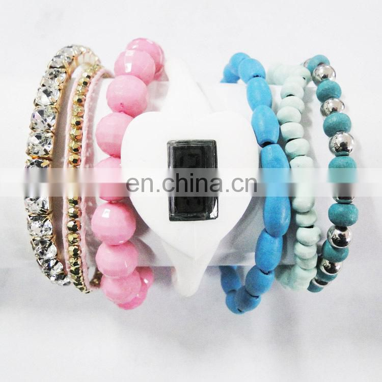 2014 Alibaba China Supplier Bracelet Set Digital Wrist Watch
