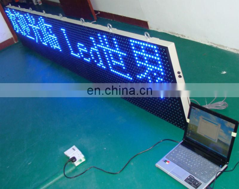 LANPAI Multi Lines P10 Outdoor Advertisement World Market White Flexible Led Screen