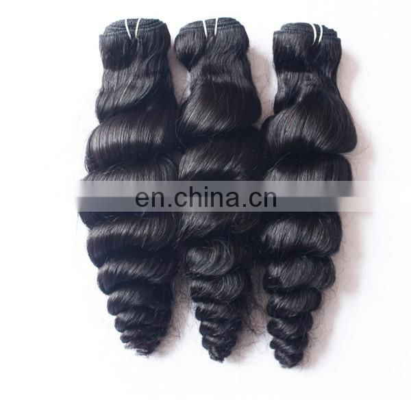 Virgin remy brazilian hair extensions dreadlocks raw loose wave human hair weave