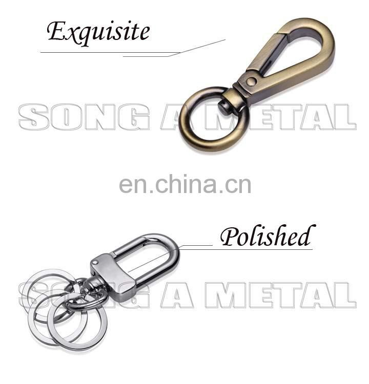 Song A SA3153 D circle ring with customed logo for handbag and shoes