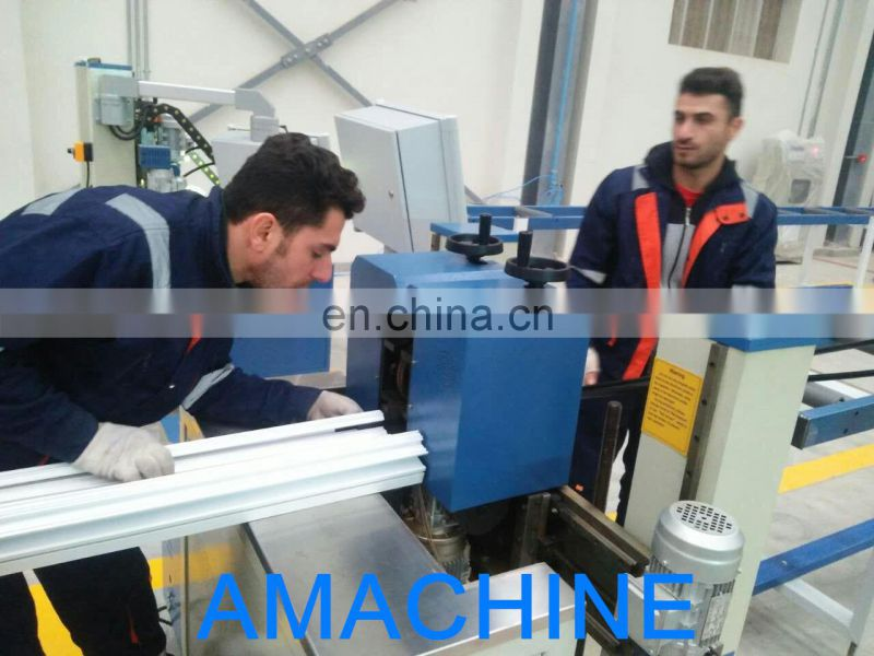 CNC Rolling Machine For Aluminum Profile with Two-axis