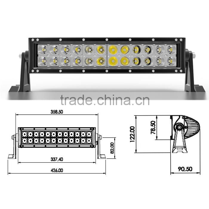 Factory Offer Super bright LED offroad light bar C-REE used for 4x4 cars,SUV,ATV,4WD,Jeep,Truck